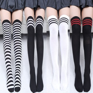 3ece8c94d1ff3 ProductImage. ProductImage. The Knee Socks Long Stockings Women Cotton Sexy  Thigh High Over