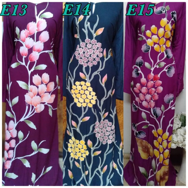 JUBAH BATIK COTTON EXCLUSIVE