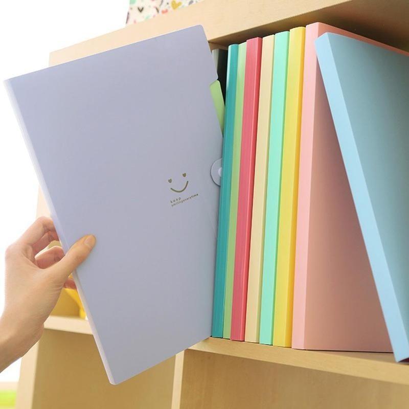 Office & School Supplies A4 32.4*23.6*1.9 Cm Waterproof Carpeta File Folder Document Bag Office Stationery Student Supplies