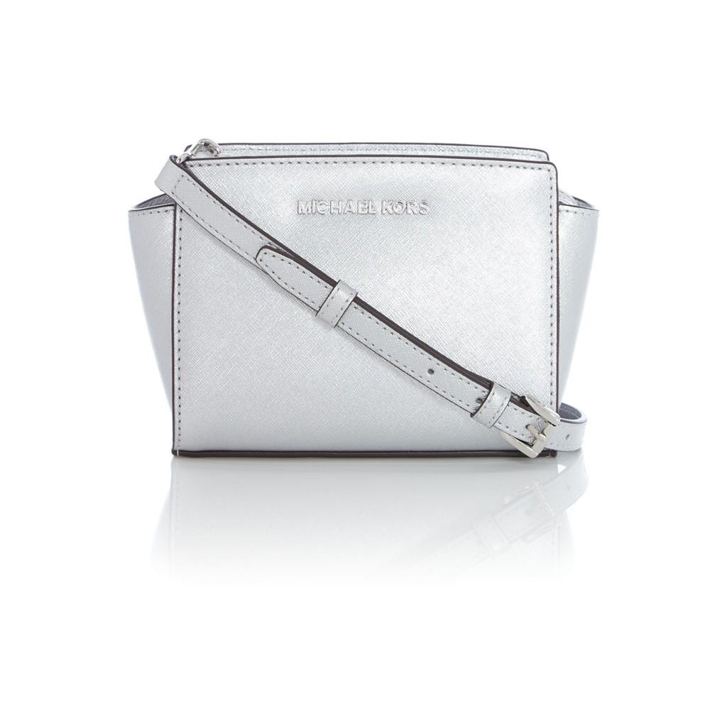 Michael Kors Selma Mini Messenger Bag Pale Blue Shopee Malaysia Medium Lilac Authentic