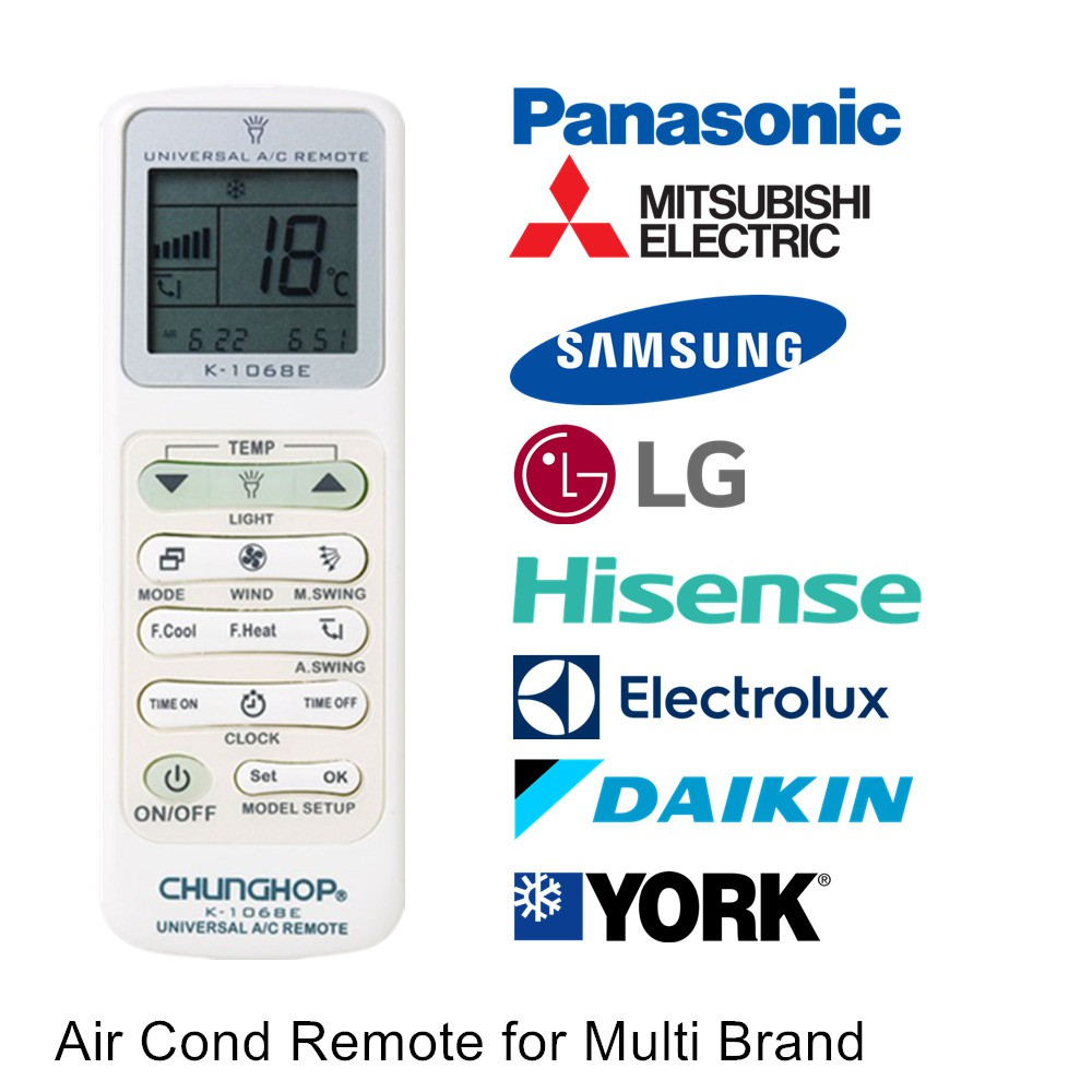 [OFFER] Universal Aircond Multi Remote Control Air Cond (FREE battery)  Various brand Aircon Air-conditioner