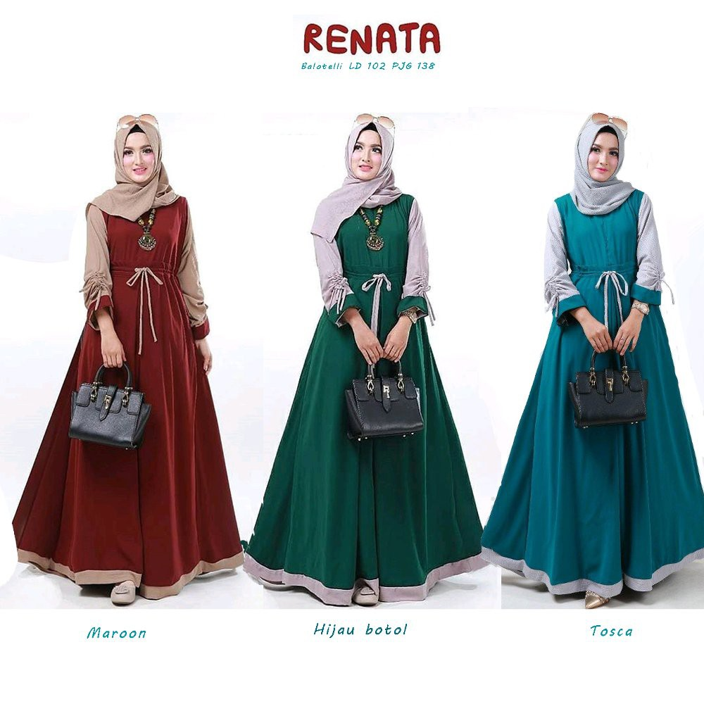 Gamis Jubah Muslimah Jubah Prices And Promotions Muslim Fashion Apr 2021 Shopee Malaysia