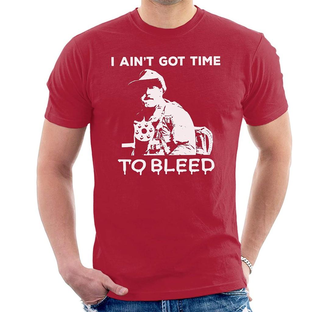 f52b9cd1533e3 Predator Aint Got Time To Bleed Men s T-Shirt