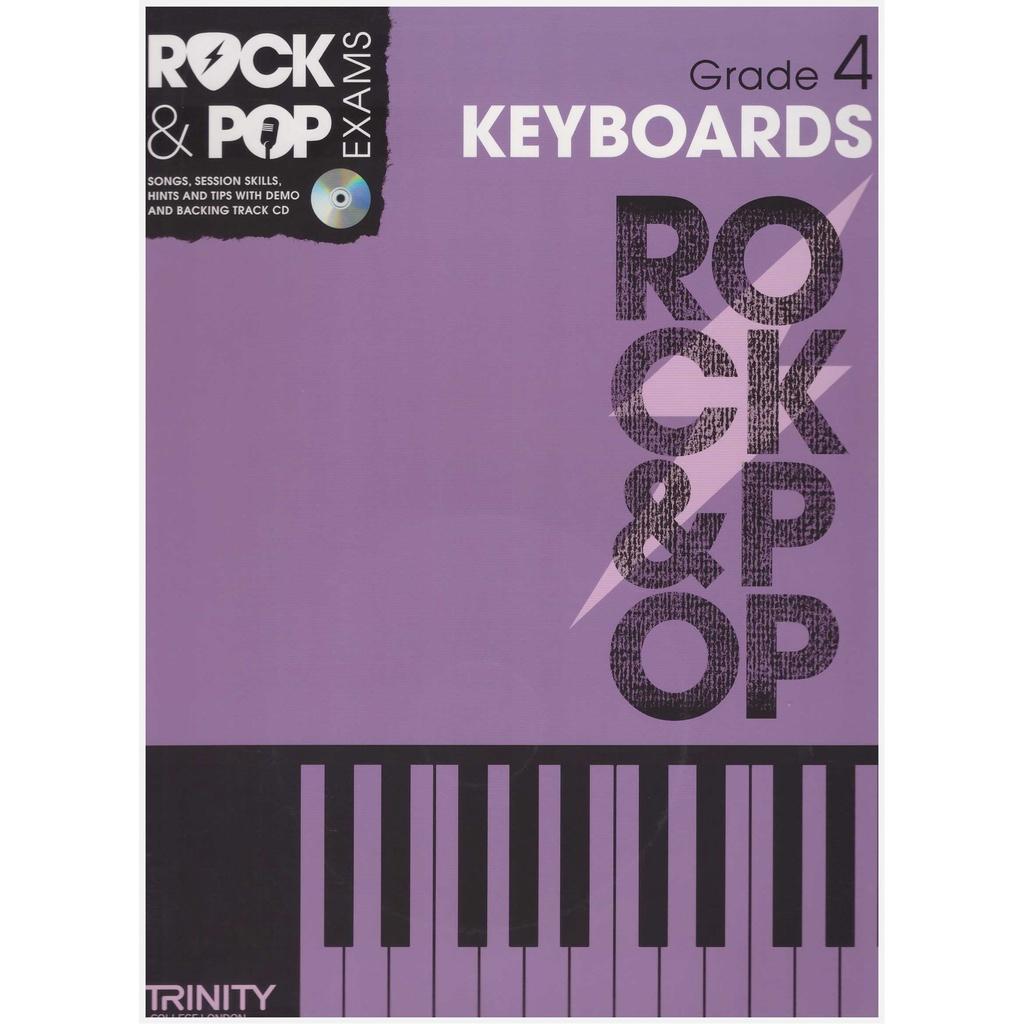 Trinity Rock & Pop Keyboard Exam Grade 4 (2012-2017) / Keyboard Book / Practical Book
