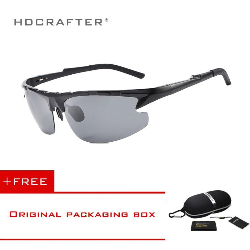 da2560c047 HDCRAFTER polarized male aluminum magnesium sunglasses 2150
