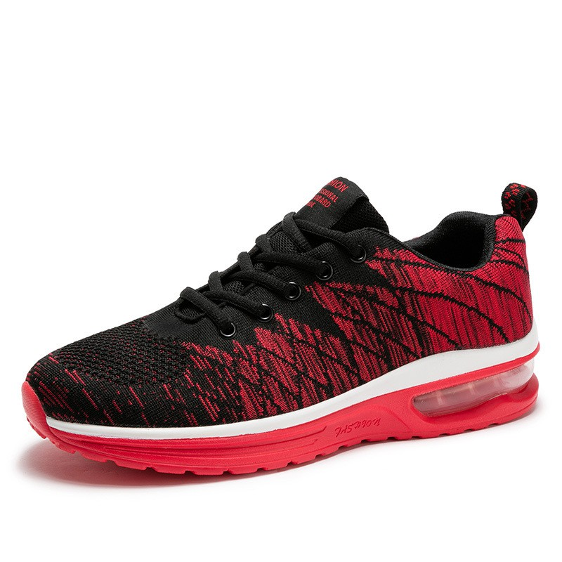 Sports shoes, men's shoes, flying woven shoes