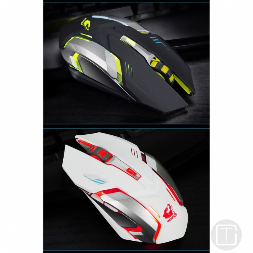d6298c53fac Rechargeable X7 Wireless Silent LED Backlit USB Optical Ergonomic Mouse  Gaming | Shopee Malaysia