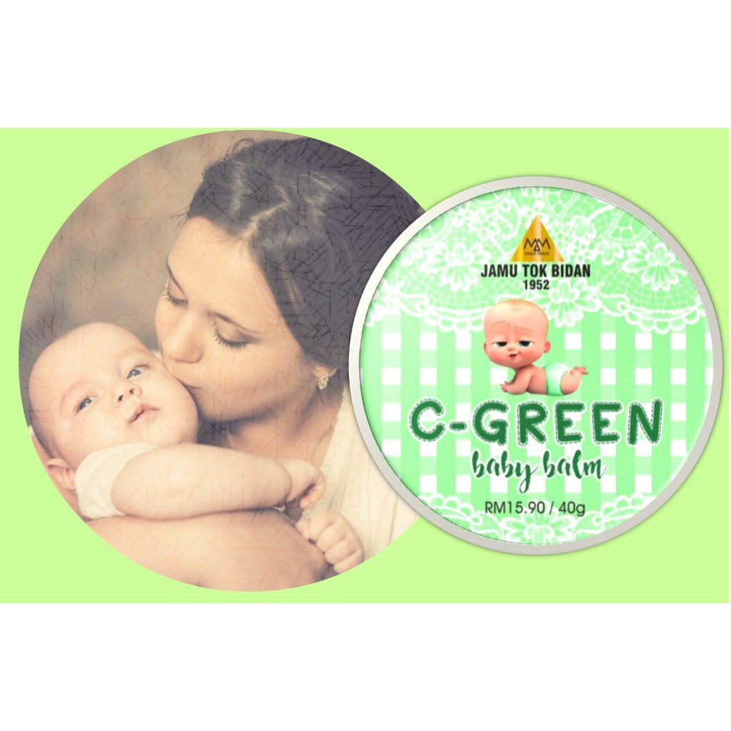 Soothing Baby Balm C-Green 40g