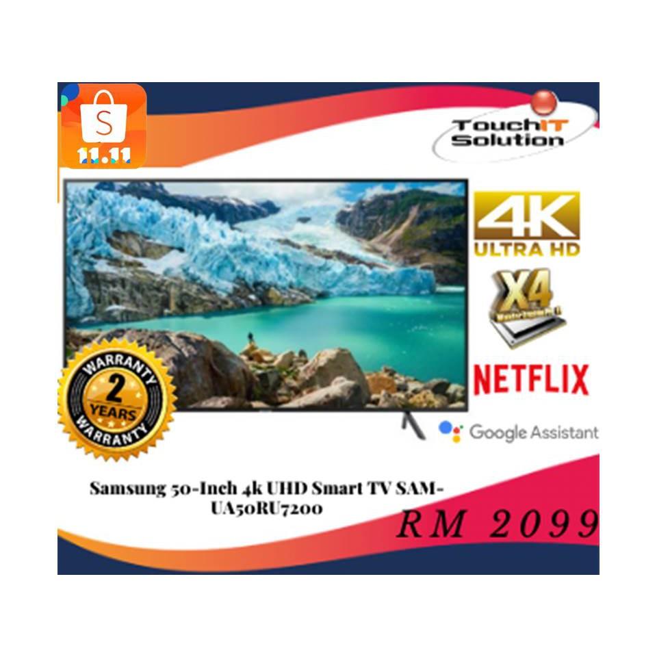 Samsung 50-Inch 4k UHD Smart TV SAM-UA50RU7200
