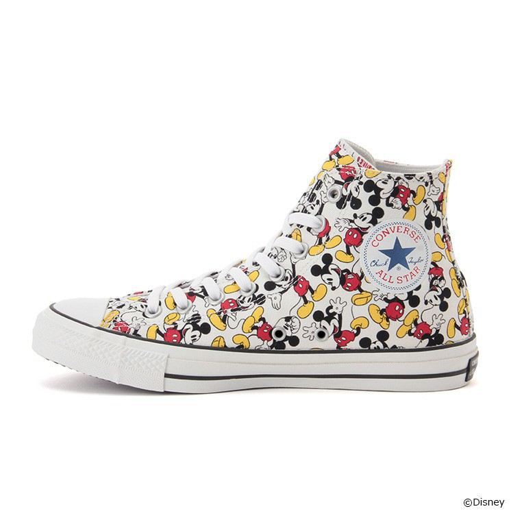 231877a4859a Officals Converse Chuck Taylor ALL STAR 100 MICKEY MOUSE Japan Disney Free  Shipping