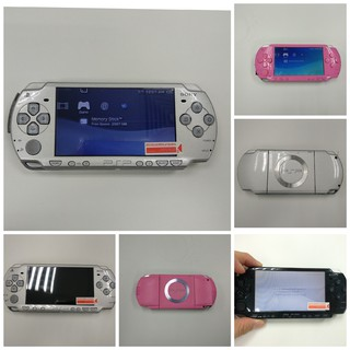 Sony PSP with 16G Memory Card USED (full with popular games!}