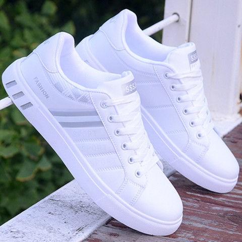☸﹍Joker tidal flat shoes autumn small white men leisure sport sandals han  edition tide male
