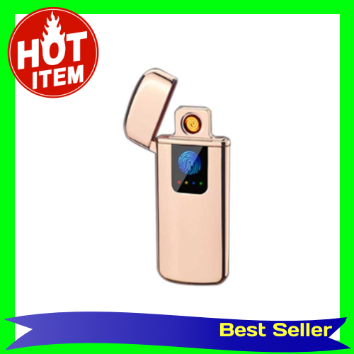 USB Electric Dual Arc Flameless Torch Rechargeable Windproof Cigarette Lightering Intelligent Sensor Switch Battery Dis