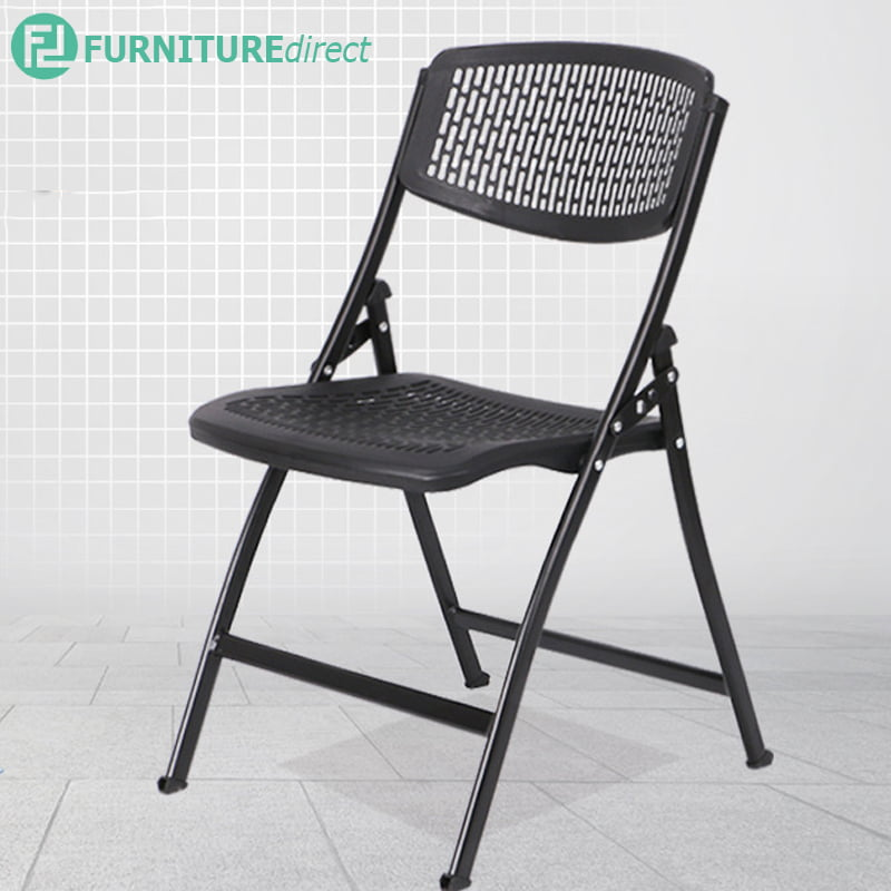 S567 MARATHON heavy duty metal folding chair- black