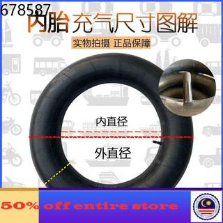 12-1//2x1.75x2-1//4 Butyl Rubber Interior Inner Tube For Small Wheel Bicycle New