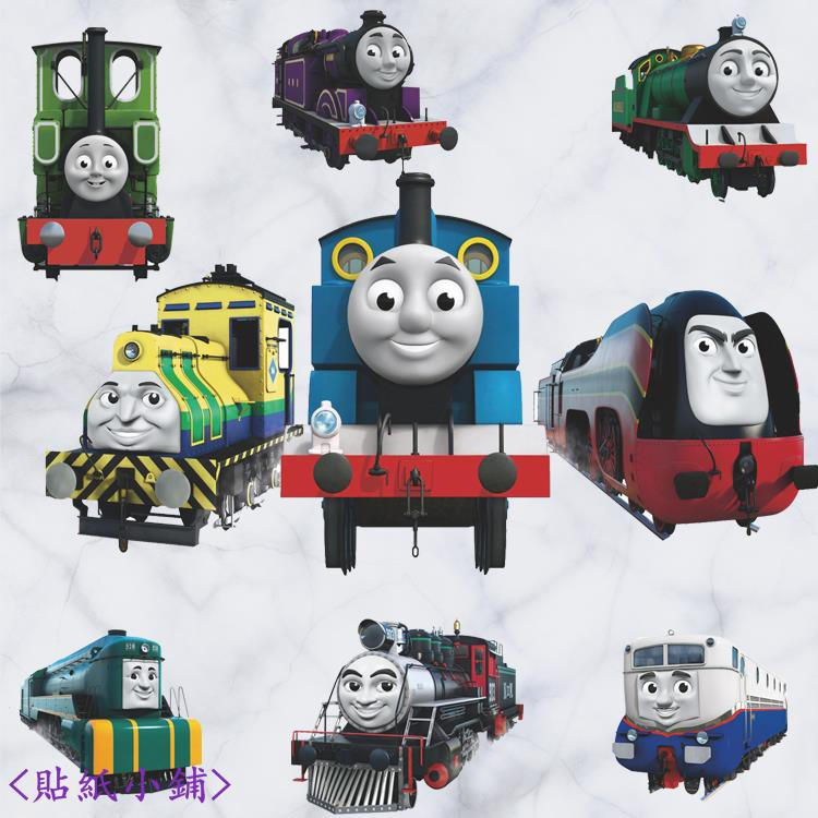 Stickers Shop Thomas And His Friends Cartoon Small Train Wallpaper Kindergarten