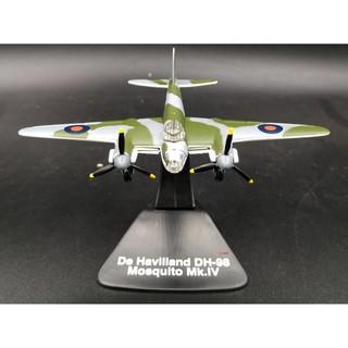 1:144 World War II Allied Mosquito DH-98 Medium Bomber Alloy