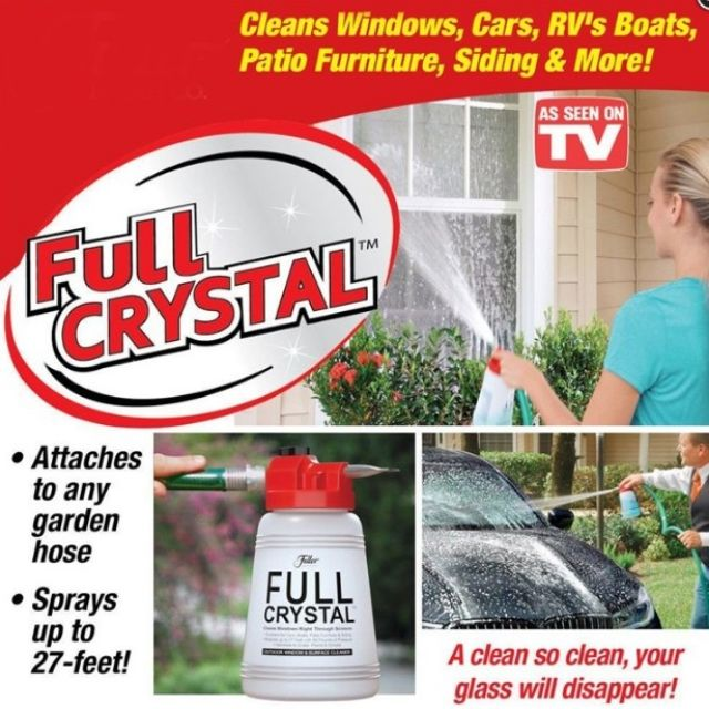 🔥M\'SIA STOCK] Clean Innovation window and out door surface cleaner(NO DETERGENT