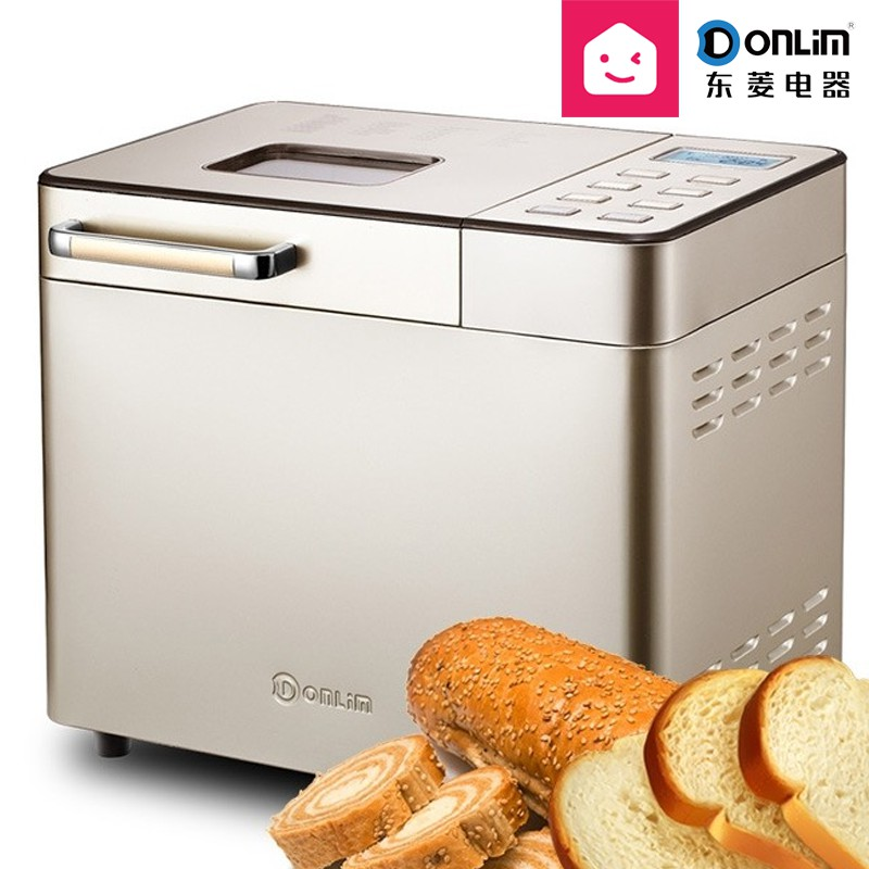 DONLIM DL-TM018 Bread Maker Stainless Steel 6D Convection Auto Fruits & Nuts Dispenser Programmable
