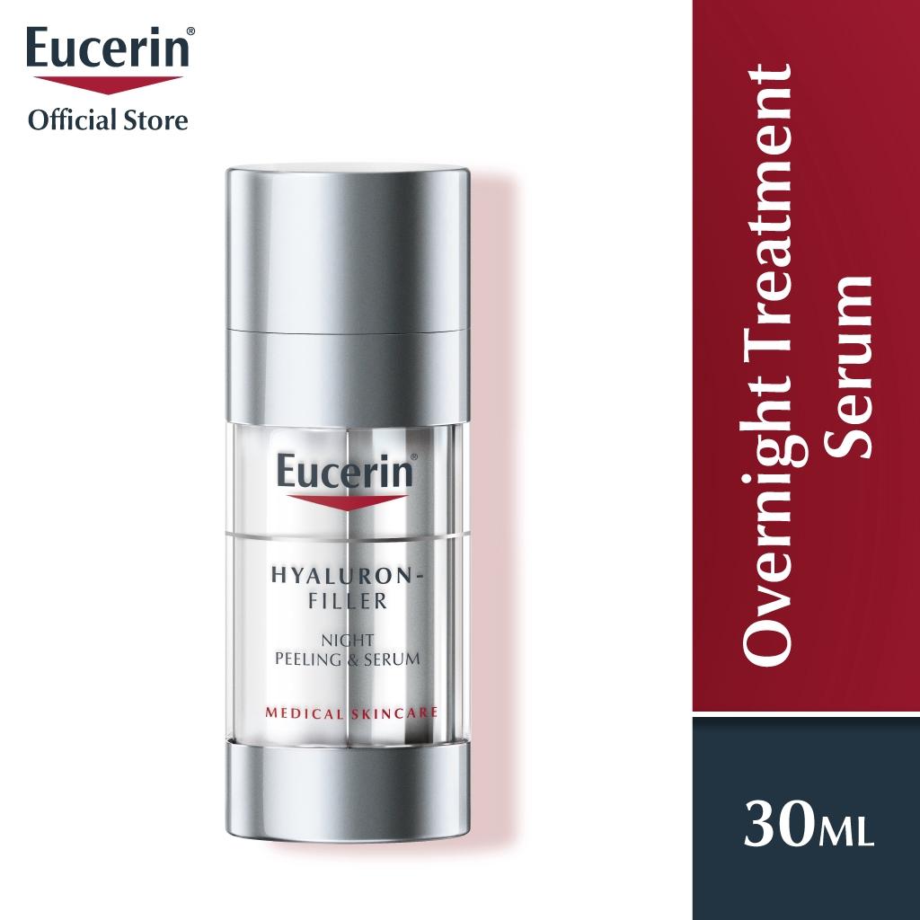 Eucerin Hyaluron Filler Overnight Treatment - Anti Aging (30ml)