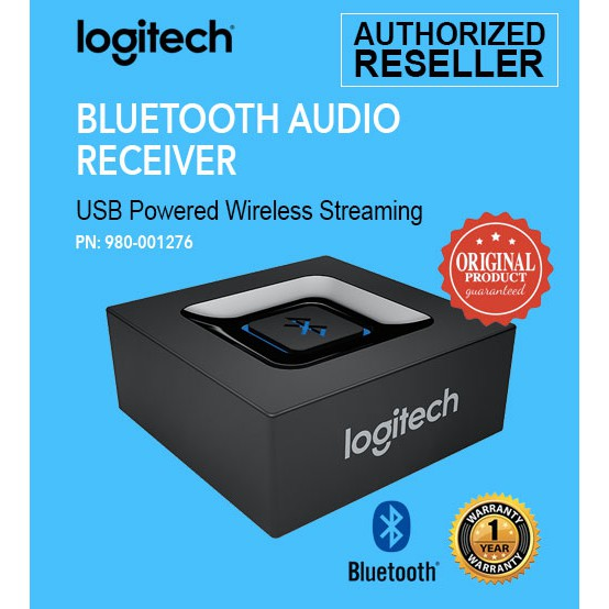 Logitech Audio Receiver Adapter For Bluetooth Wireless Streaming ...