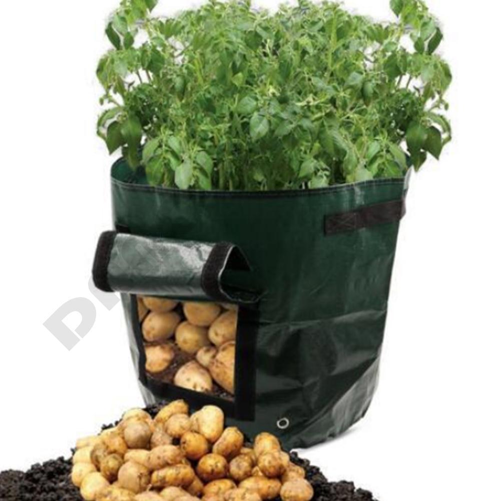 Bags 1 Pc Potato Grow Bag Aeration Waterproof Fabric Sweet