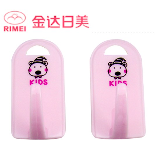 RIMEI Strong Adhesive Hook Wall Bathroom Kitchen Hook Cuties Bear Design 2769