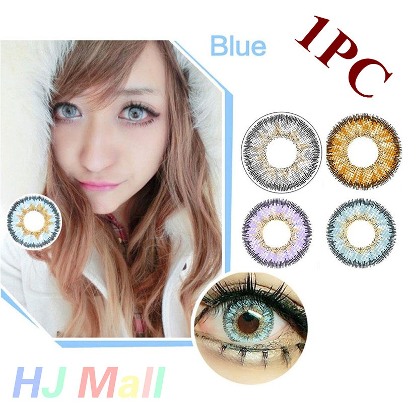 BAUSCH & LOMB LACELLE JEWEL MONTHLY COSMETIC COLOR CONTACT LENS (2 PIECES) | Shopee Malaysia