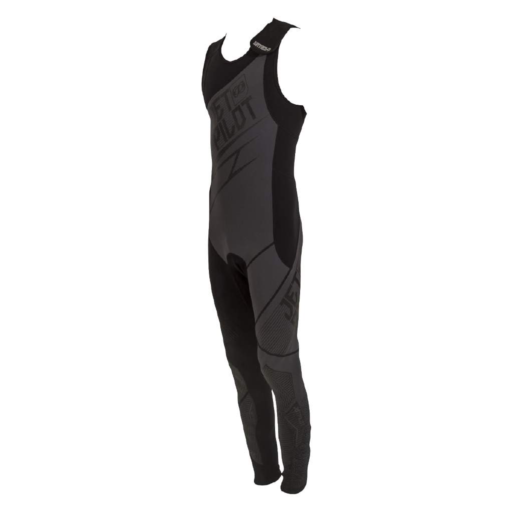 2ce46702f195 Jetpilot Matrix Pro 2mm Neoprene Wetsuit Diving Race John Black Blue JA1841