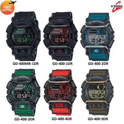 san francisco fb860 695ed Casio G-SHOCK (100% ORI) GD-400 Digital Watch [1 Year International  Warranty]