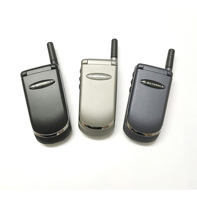 Original Refurbished Motorola StarTAC V50 Flip Phone Full Set + 1 Month Warranty
