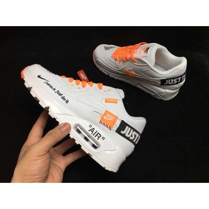Original Off White X Nike Air Max 97 for Men Shoes Sports Sneakers White Orange