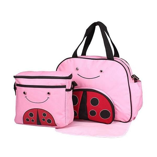Mylilangelz KA0170 Becute Fun Animal Diaper Bag (Ladybird) (READY STOCK)