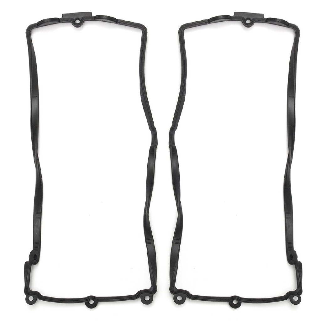 Car & Truck Parts For BMW E90 E92 Pair Set of Left & Right Valve Cover Gaskets Cylinders 1-4 & 5-8