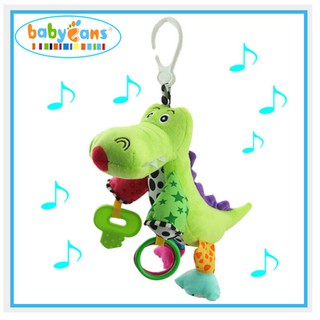 ce023796d9aa Babyfans Musical Toy Aligator Baby Early Development Hanging ...