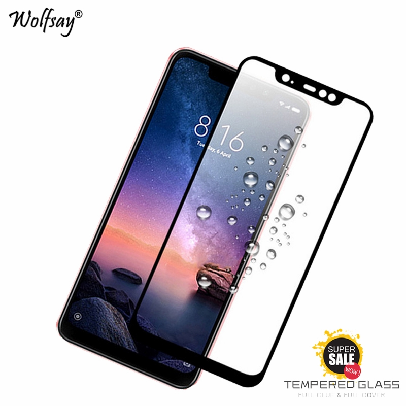 Toughened Glass ́ 2,5D 9H Protection Full Glue Xiaomi Redmi Note 7 pro 6.3 /""