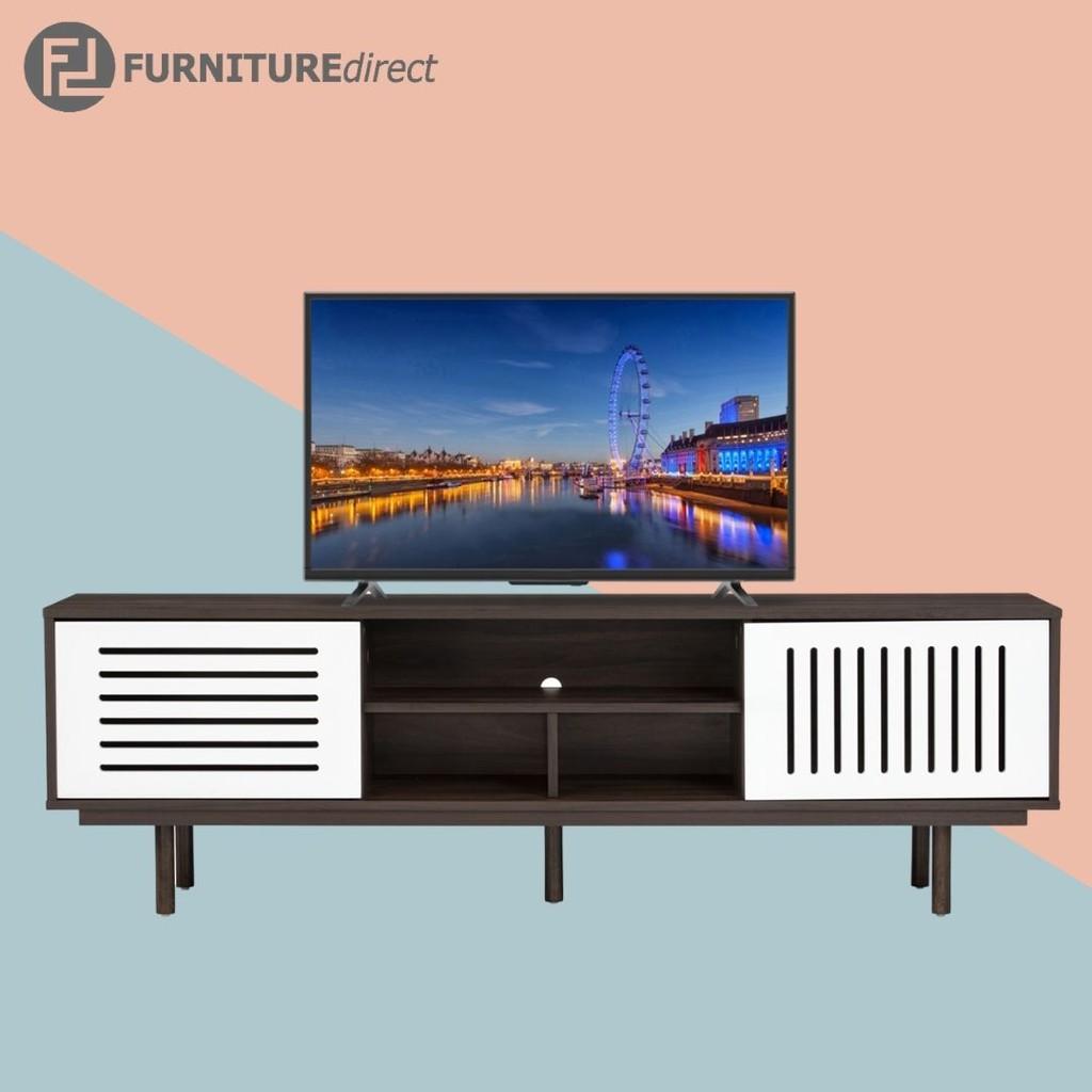 Hartford 1.6M TV Cabinet/ rak tv/ kabinet tv/ rak tv kayu