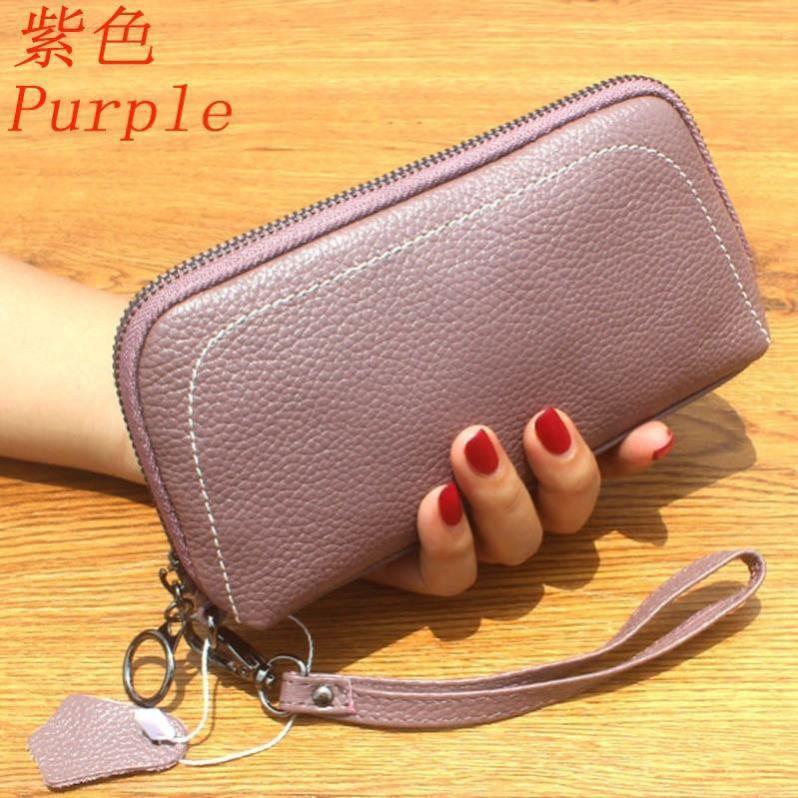 d3fa509d1500 New handbag Woman's genuine leather wallet fashion simple wallet HP