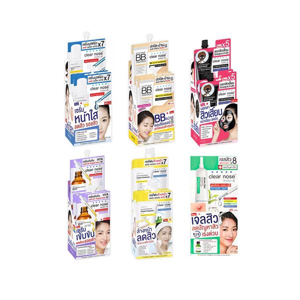 ใส่โค้ด SSPGSQ ซื้อ300ลด100!! เซรั่มบูสต์ผิว เคลียร์โนส แอคเน่ แคร์ โซลูชั่น Clear nose Acne Care Solution Serum