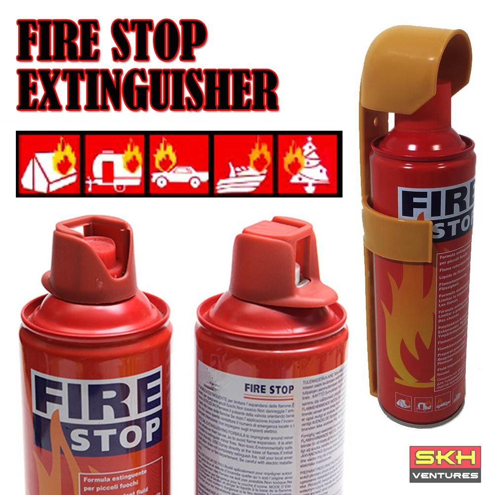 Mini Portable Fire Extinguisher Fire Stop (500ml/1000ml)