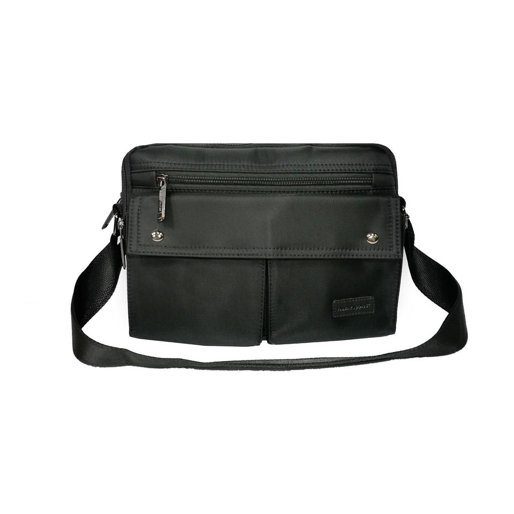 Hush Puppies Men's Messenger Bag HPG50021BK