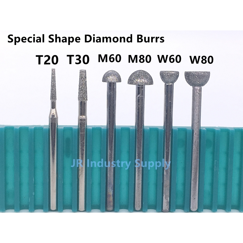 Y// Disc Shape Tungsten Steel Solid Carbide Burrs Rotary Tools Milling Cutter 6MM