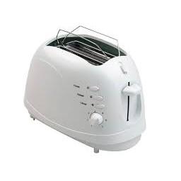 White Toaster 2 Slice BH-001