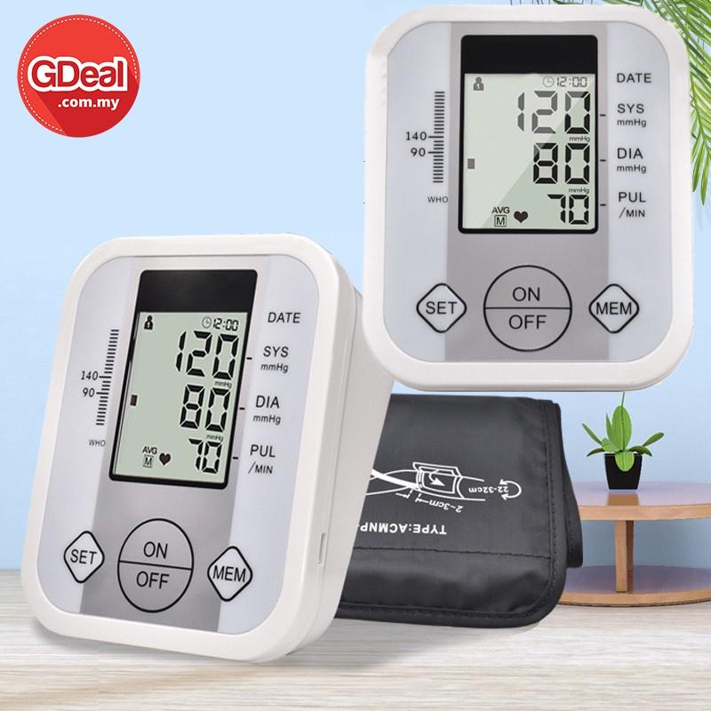GDeal Home Wrist Electronic Sphygmomanometer Modern Multifunctional Mini Electronic Sphygmomanometer Device