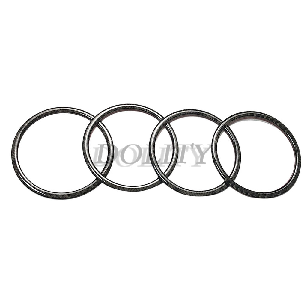 4 Pieces Inner Door Speaker Sound Ring Cover Trim For BMW X5 X6 E70 E71 F15