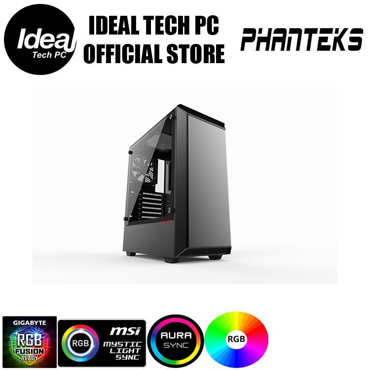 Phanteks ECLIPSE P300 TEMPERED GLASS (RGB)