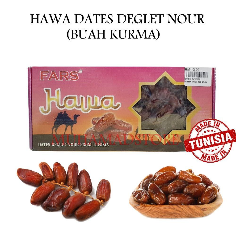 Hawa Dates Deglet Nour (Buah Kurma)