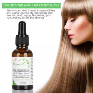 Disaar Hair Essential Oil Anti Hair Loss 30g Shopee Malaysia