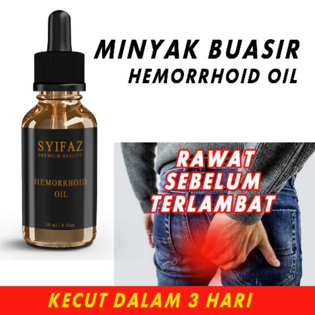Minyak Buasir Kecut Dalam 3 Hari Hemorrhoid Oil