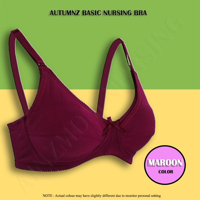 26d7512e14 Autumnz Isabel2 Maternity Nursing Bra (Vines)